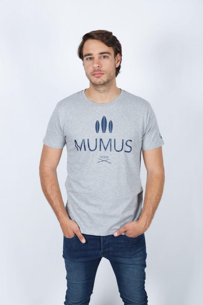 Camiseta Gris Ocean Soul