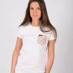 Camiseta Blanca Roseda