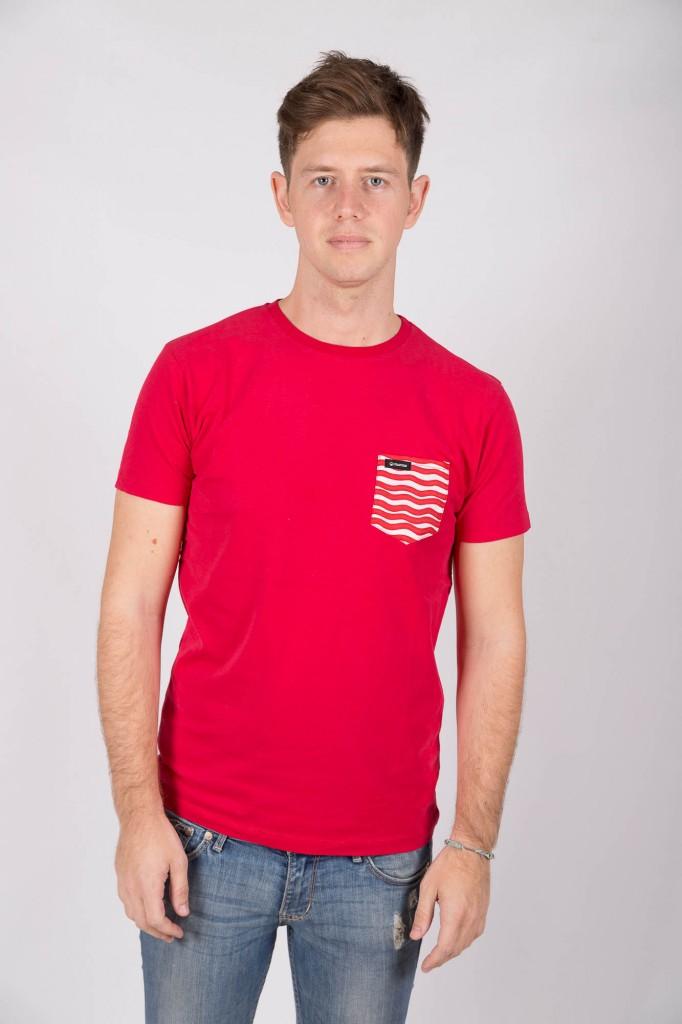 Camiseta Roja Marero