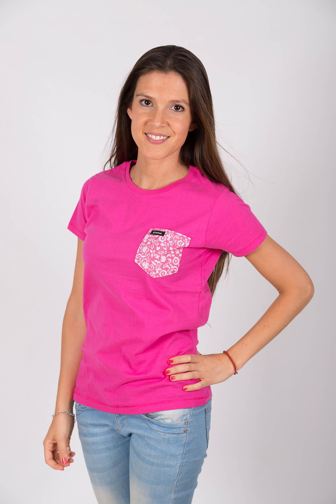 Camiseta Rosa Flowerpower