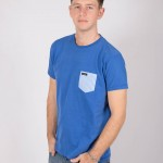 Camiseta Azul Cobalto Delineante