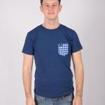 Camiseta Azul Picnic