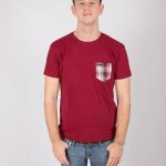 Camiseta Granate Wineshot