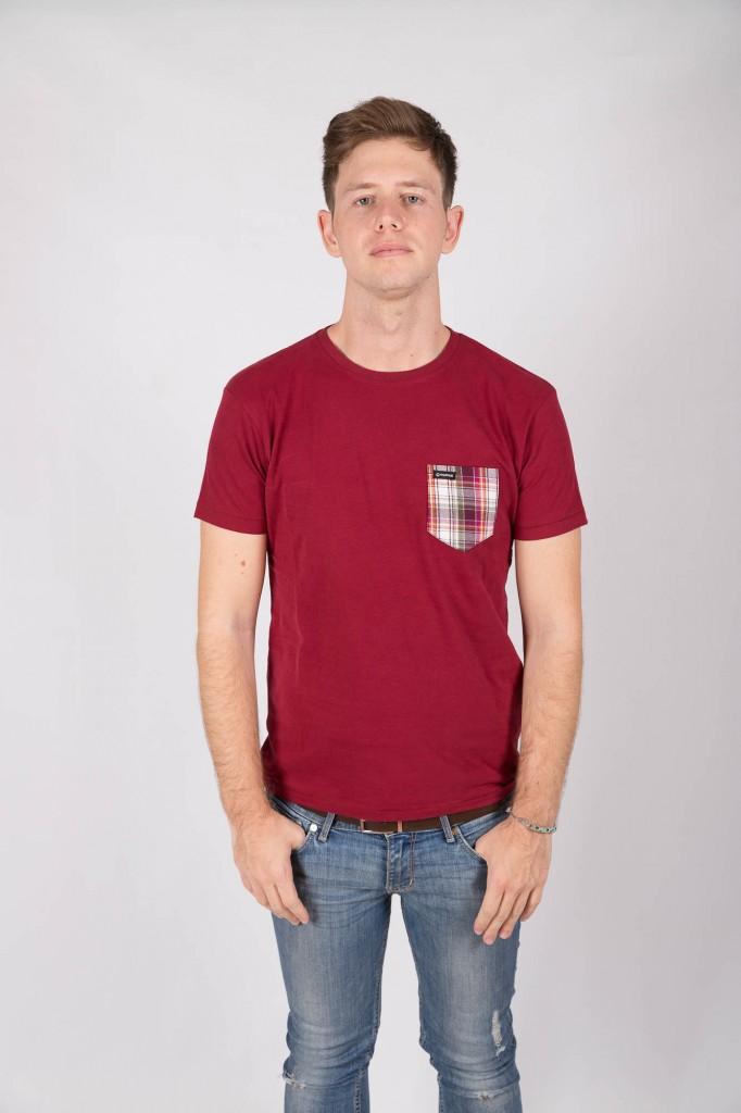 Camiseta Granate Wineshot