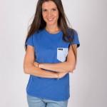 Camiseta Azul Cobalto Dotazul