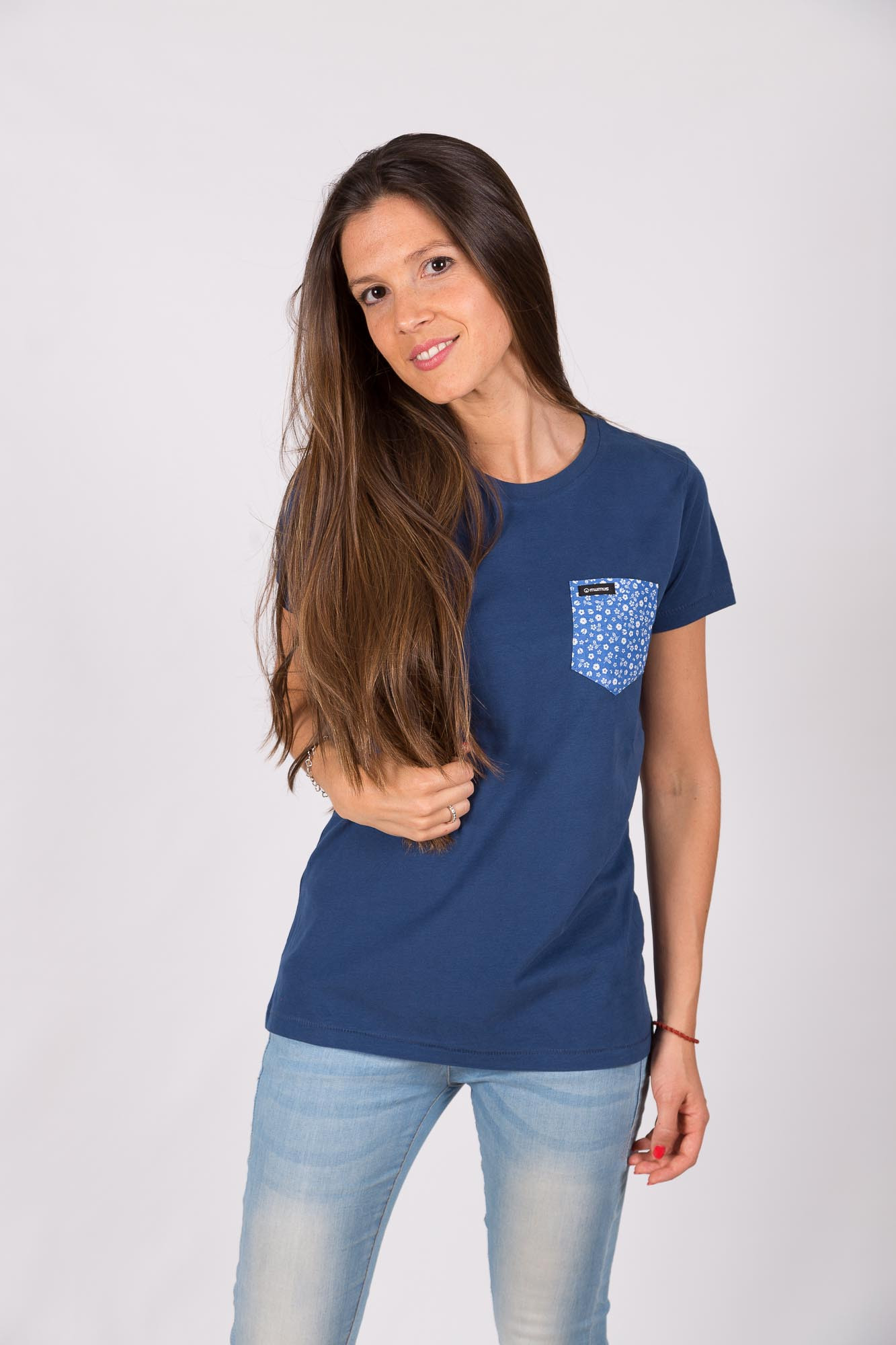 Camiseta Azul Estamflor